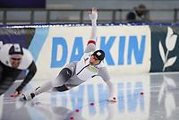 SPEEDSKATING: HEERENVEEN: 17-01-2021, IJsstadion Thialf, ISU European Speed Skating Championships, Nico Ihle, ©photo Martin de Jong
