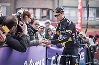 Niki Terpstra (NED/Direct Energie) pre race<br /> <br /> 82nd Gent – Wevelgem in Flanders Fields 2019 (1.UWT)<br /> Deinze – Wevelgem: 251,5km<br /> ©kramon