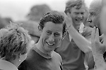 Prince Charles playing Polo at the Cowdray Park Polo Club ground Sussex UK 1980s. 1981