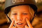 Skateboarder Jack Kaplan, age 8.  August 17, 2005.