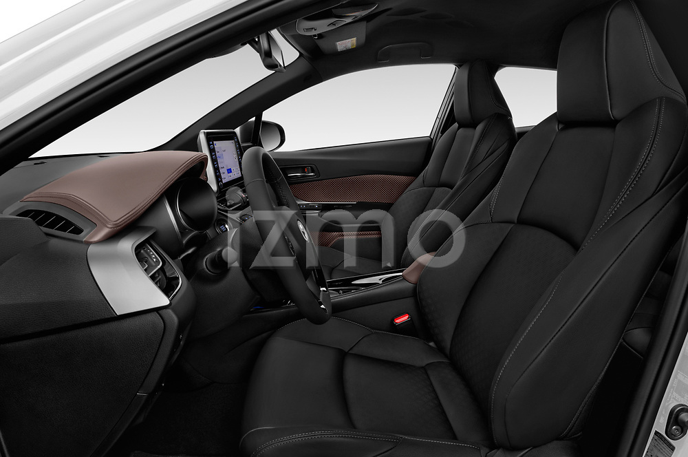 Front seat view of 2019 Toyota C-HR Limited Door SUV Front Seat  car photos