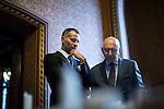 © Joel Goodman - 07973 332324 - all rights reserved . No onward sale/supply/syndication permitted . Free to use by Manchester Evening News only - not for use in connection with any other story . 28/07/2016 . Manchester , UK . RYAN GIGGS at the launch of the St Michael's city centre development , at the Lord Mayor's Parlour in Manchester Town Hall . Backed by The Jackson's Row Development Partnership (comprising Gary Neville , Ryan Giggs and Brendan Flood ) along with Manchester City Council , Rowsley Ltd and Beijing Construction and Engineering Group International , the Jackson's Row area of the city centre will be redeveloped with a design proposed by Make Architects . Photo credit : Joel Goodman