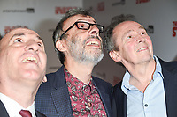 """Armando Iannucci, David Schneider and Paul Whitehouse<br /> arriving for the premiere of """"The Death of Stalin"""" at the Curzon Chelsea, London<br /> <br /> <br /> ©Ash Knotek  D3338  17/10/2017"""