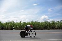 PEREIRA - COLOMBIA, 17-06-2021:  Campeonatos Nacionales de Ciclismo de Ruta se realiza entre el 17 y el 20 de junio de 2021 en el departamento de Risaralda, dividida en contrarreloj y el circuito. La carrera cuenta con las categorías damas elites y sub 23; y hombres sub 23 y elites. / National Road Cycling Championships is held between June 17 and 20, 2021 in the department of Risaralda, divided into time trial and circuit. The race has the categories ladies elites and sub 23; and men under 23 and elites . Photo: VizzorImage / Santiago Castro / Cont