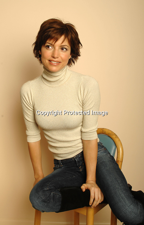 """Michelle Ray Smith at a photo shoot on November 27, 2006. She currently stars as the sultry Ava Peralta on CBS-TV's """"Guiding Light"""" and was recently voted one of """"The Most Beautiful Women"""" on daytime Television. ..Robin Platzer, Twin Images"""