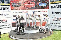 #77: Bryan Herta Autosport w/ Curb-Agajanian Hyundai Veloster N TCR, TCR: Michael Lewis, Taylor Hagler ,#5: KMW Motorsports with TMR Engineering Alfa Romeo Giulietta Veloce TCR, TCR: Roy Block, Tim Lewis, #27: COPELAND MOTORSPORTS Hyundai Veloster N TCR, TCR: Tyler Maxson, Tyler Gonzalez