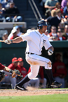 March 5, 2010:  Outfielder/Designated Hitter Johnny Damon of the Detroit Tigers during a Spring Training game at Joker Marchant Stadium in Lakeland, FL.  Photo By Mike Janes/Four Seam Images