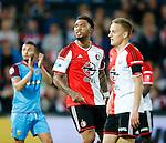 Nederland, Rotterdam, 11 mei 2015<br /> Eredivisie<br /> Seizoen 2014-2015<br /> Feyenoord-Vitesse<br /> Colin Kazim-Richards van Feyenoord is boos