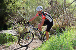 NELSON, NEW ZEALAND - SEPTEMBER 27: Mountain Biking at Sharlands Creek, Maitai Valley, during the NZCT 2015 South Island Masters Games, September 27, 2015 in Nelson, New Zealand. <br /> Photo: Marc Palmano/shuttersport.co.nz