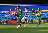 Atdhe Nuhiu of Sheffield Wednesday shot saved by Joe Lumley of Queens Park Rangers during Queens Park Rangers vs Sheffield Wednesday, Sky Bet EFL Championship Football at Loftus Road Stadium on 11th July 2020