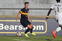 BERKELEY, CA - September 16, 2016: Cal Bears Men's Soccer team vs. the University of Nebraska Omaha Mavericks at Goldman Field. Final score, Cal Bears 2, University of Nebraska Omaha Mavericks 0.