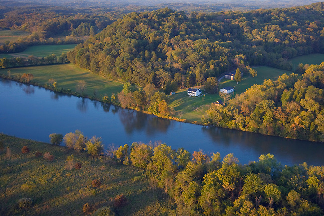 Farm on French Broad River
