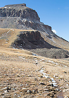 Uncompahgre Peak from the trail