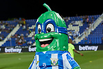 Leganes' pet Superpepino during La Liga match. August 24, 2018. (ALTERPHOTOS/A. Perez Meca)