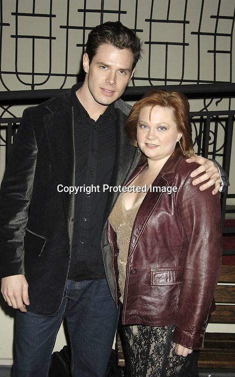 Josh Casaubon and Kathy Brier ..at ABC Casino Night on October 27, 2005 at The Lighthouse at Chelsea Piers. ..Photo by Robin Platzer, Twin Images