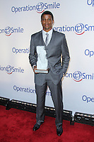 NEW YORK CITY, NY, USA - MAY 01: Sharif Atkins at the Operation Smile Event held at Cipriani Wall Street on May 1, 2014 in New York City, New York, United States. (Photo by Jeffery Duran/Celebrity Monitor)