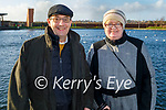 Enjoying a stroll in the Tralee Bay Wetlands on Sunday l to r: Michael and Geraldine Murphy from Clash Cross.
