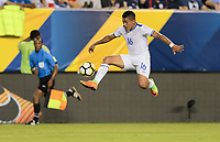 Philadelphia, PA - Wednesday July 19, 2017: Oscar Ceren during a 2017 Gold Cup match between the men's national teams of the United States (USA) and El Salvador (SLV) at Lincoln Financial Field.