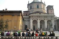 - la basilica di S.Lorenzo....- the basilica of S.Lorenzo