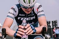 Elisa looking disspointed at the end of the <br /> 16th Ronde Van Vlaanderen<br /> <br /> Elite Womans Race (1.WWT)<br /> <br /> One day race from Oudenaarde to Oudenaarde<br /> ©Jojo Harper for Kramon