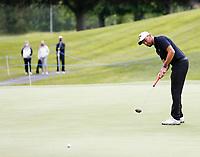 4th July 2021; Mount Juliet Golf Club, Kilkenny, Ireland; Dubai Duty Free Irish Open Golf, Day Four; Maximilian of Germany putts on the 9th green