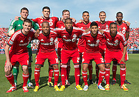 18 May 2013: TheToronto FC starting eleven during an MLS game between the Columbus Crew and Toronto FC at BMO Field in Toronto, Ontario Canada..The Columbus Crew won 1-0.