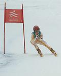 calgary native lauren woolstencroft en route to her gold medal performance