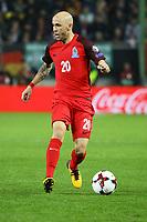 Richard Almeida (Aserbaidschan) - 08.10.2017: Deutschland vs. Asabaidschan, WM-Qualifikation Spiel 10, Betzenberg Kaiserslautern