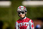 AUGUST 20, 2021:  Kyle Frey before the Torrey Pines Stakes at Del Mar Fairgrounds in Del Mar, California on August 20, 2021. Evers/Eclipse Sportswire/CSM