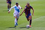 Liga IBERDROLA. Game 26.<br /> FC Barcelona vs RC Deportivo: 9-0.<br /> Lady Andrade vs Lieke Martens.