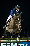 Olivier Robert of France riding Vivaldi Des Meneaux competes in the Longines Speed Challenge during the Longines Masters of Hong Kong at AsiaWorld-Expo on 10 February 2018, in Hong Kong, Hong Kong. Photo by Ian Walton / Power Sport Images