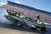 NHRA Mello Yello Drag Racing Series<br /> NHRA Carolina Nationals<br /> zMAX Dragway, Concord, NC USA<br /> Sunday 17 September 2017 Alexis DeJoria, Patron, funny car, Toyota, Camry<br /> <br /> World Copyright: Mark Rebilas<br /> Rebilas Photo