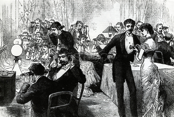 New Year's Eve, 1882 Artist Unknown