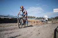 race leader Sanne Cant (BEL/Enertherm-Beobank)<br /> <br /> CX Superprestige Zonhoven 2016