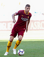 Roma's Edin Dzeko in action during the Italian Serie A football match between Roma and Lazio at Rome's Olympic stadium, September 29, 2018. Roma won 3-1.<br /> UPDATE IMAGES PRESS/Riccardo De Luca