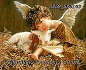 CHILDREN, KINDER, NIÑOS, paintings+++++,USLGSK0103,#K#, EVERYDAY ,Sandra Kock, victorian ,angels