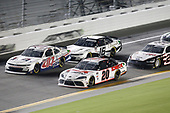 #07: Gray Gaulding, SS Green Light Racing, Chevrolet Camaro, #20: Harrison Burton, Joe Gibbs Racing, Toyota Supra DEX Imaging, #16: A.J. Allmendinger, Kaulig Racing, Chevrolet Camaro
