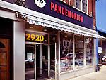 Pandemonium vintage record shop at the Junction neighbourhood in Toronto, Canada
