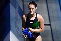 PELLACANI Chiara ITA<br /> 3m Springboard Women Preliminary <br /> Diving <br /> Budapest  - Hungary  15/5/2021<br /> Duna Arena<br /> XXXV LEN European Aquatic Championships<br /> Photo Giorgio Perottino / Deepbluemedia / Insidefoto