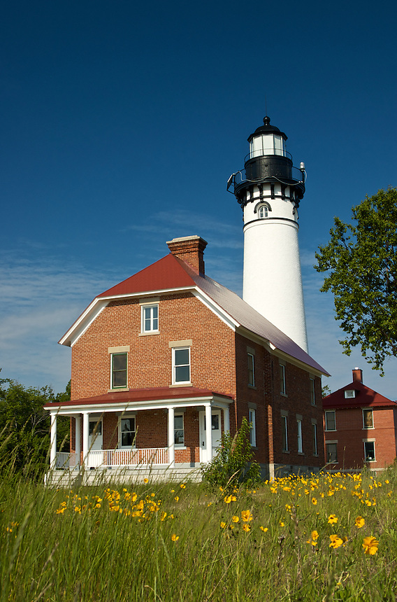 The Au Sable Light Station is located on beautiful Lake Superior in Michigan's Upper Peninsula.