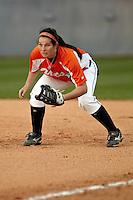 SAN ANTONIO, TX - FEBRUARY 26, 2010: The University of California at Riverside Highlanders vs. the University of Texas at San Antonio Roadrunners Softball at Roadrunner Field. (Photo by Jeff Huehn)