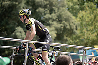 Simon Yates (GBR/Mitchelton-Scott) at the race start in front of the Arena in Nîmes<br /> <br /> Stage 16: Nîmes to Nîmes (177km)<br /> 106th Tour de France 2019 (2.UWT)<br /> <br /> ©kramon