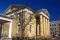 Alexandria, VA, Virginia, The Lyceum Museum a 1839 temple-form bulding in downtown Alexandria.