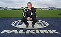 Falkirk Manager Gary Holt