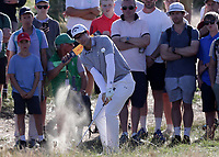 17th July 2021; Royal St Georges Golf Club, Sandwich, Kent, England; The Open Championship Golf, Day Three; Dylan Frittelli (RSA) pitches to the green from deep rough on the par three 11th hole