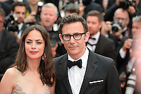 """FRA: """"THE BFG"""" Red Carpet- The 69th Annual Cannes Film Festival - Berenice Bejo, Michel Hazanavicius attend """"THE BFG"""". Red Carpet during The 69th Annual Cannes Film Festival on May 14, 2016 in Cannes, France."""