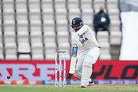 Ajinkya Rahane, India drives into the covers during India vs New Zealand, ICC World Test Championship Final Cricket at The Hampshire Bowl on 19th June 2021