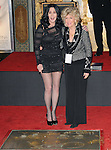 Cher and her mom Georgia at Cher's Hand and Footprint Ceremony where she was honored at The Grauman Chinese Theatre in Hollywood, California on November 18,2010                                                                                    © 2010 Hollywood Press Agency