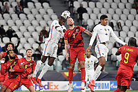 Paul Pogba of France and Toby Alderweireld of Belgium during the Uefa Nations League semi-final football match between Belgium and France at Juventus stadium in Torino (Italy), October 7th, 2021. Photo Andrea Staccioli / Insidefoto