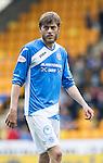 St Johnstone v Celtic…20.08.16..  McDiarmid Park  SPFL<br />Murray Davidson<br />Picture by Graeme Hart.<br />Copyright Perthshire Picture Agency<br />Tel: 01738 623350  Mobile: 07990 594431
